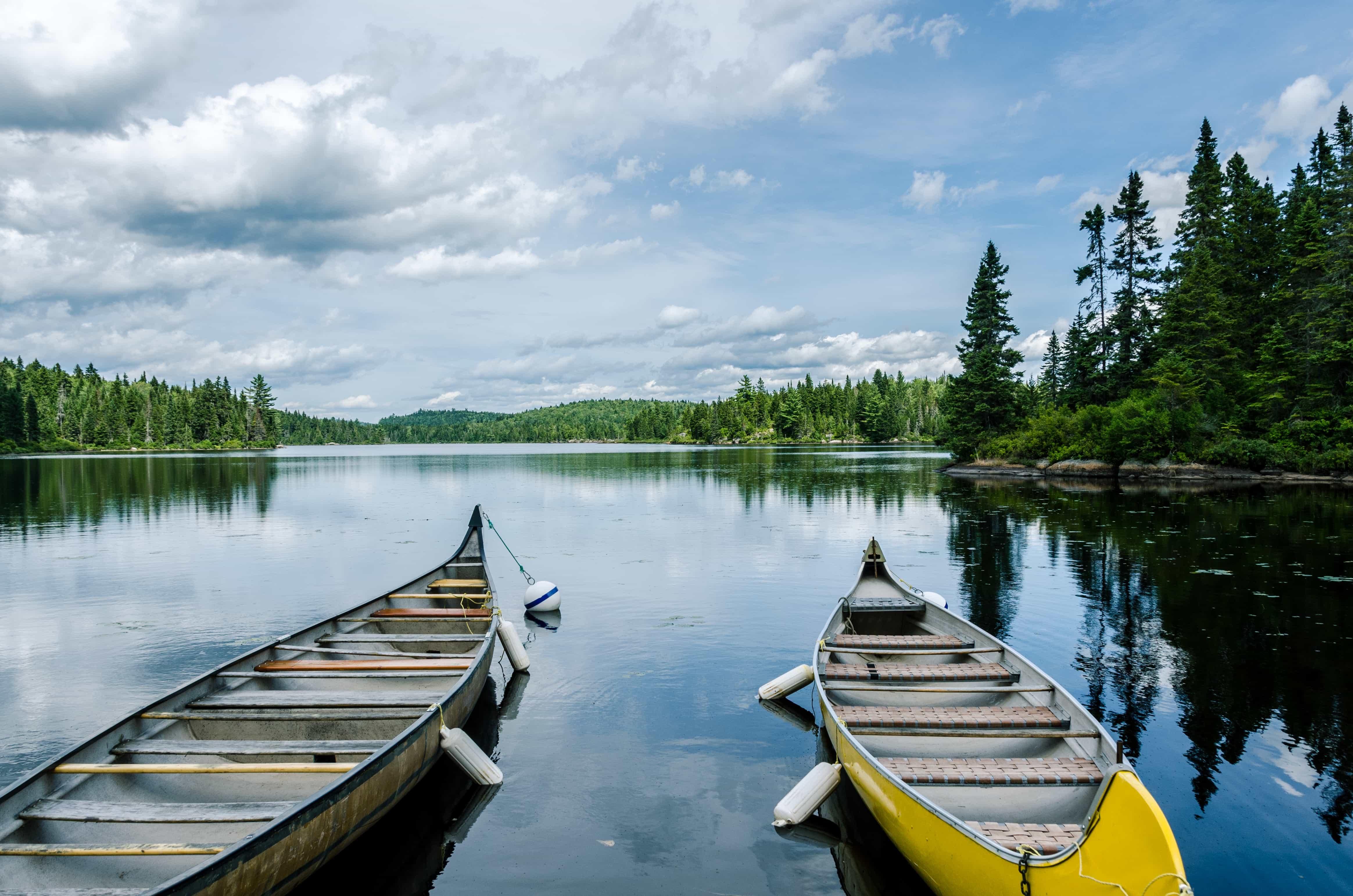 Canoe Parc National de La Mauricie