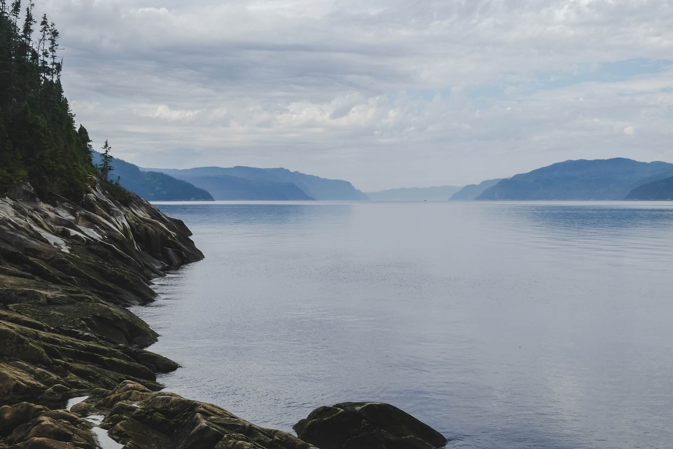 Brume sur le Fjord
