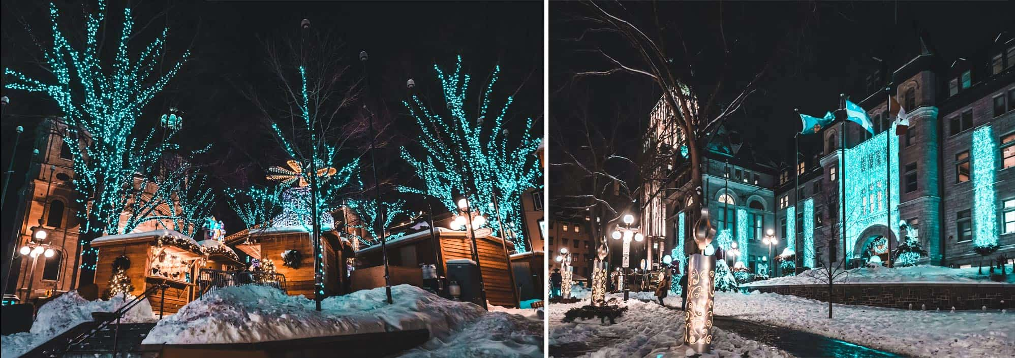 Ville de Québec - hiver