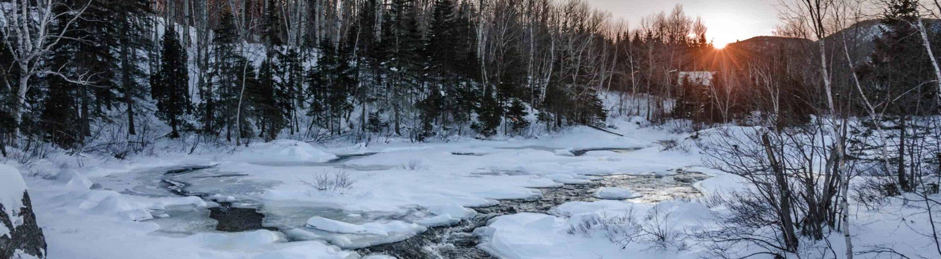 Québec - Un road trip enneigé au coeur des montagnes