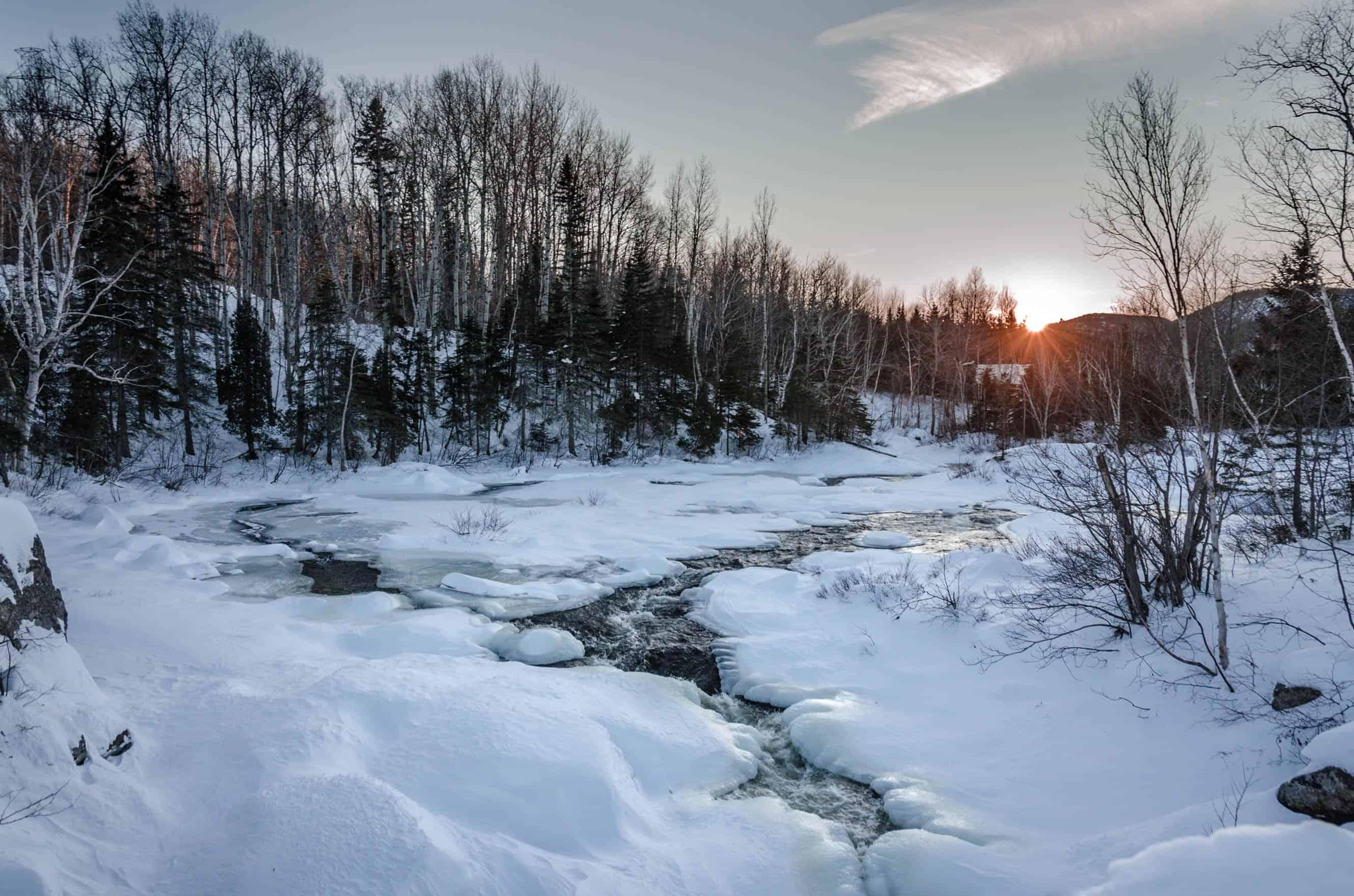 Québec – Un road trip enneigé